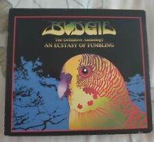 Budgie - An Ecstasy of Fumbling (The Definitive Anthology, 1998) 2CD (Rare)