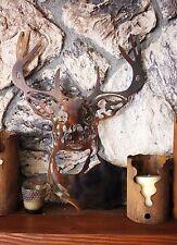 Deer Head Metal Wall Art Decor