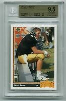 1991 Upper Deck #13 Brett Favre Rookie BGS All 9.5