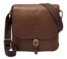 FOSSIL Cross Body Bag Buckner Citybag Cognac