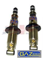 New Pair of GAZ Front Shock Absorbers w Adjustable Perch for Triumph Spitfire