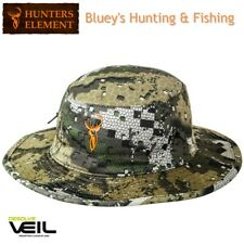 eab82a9d2a04f Hunters Element Hunting Fishing Veil Camo Lightweight Boonie Sun Hat