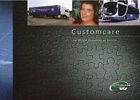 Wrightbus Customcare Prospekt 2007 Busprospekt Omnibus Bus Busprospekt brochure