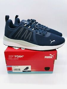 Puma Men's Pacer Net Cage Athletic Running Sneakers - NAVY , choose size