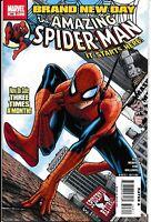 Amazing Spider-Man 546 NM-  2008 Marvel Comics 1st Print MCU Jackpot Mr Negative