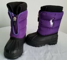 Polo Ralph Lauren winter boots for kids - size 5 (B10)