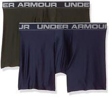 UA Under Armour Mens Original Series 6�€ Boxerjock, 2 Pack, Multiple Sizes/Colors