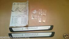 SEUILS DE PORTE ECLAIRES RENAULT MEGANE 4 IV III AVANT ENTRY GUARDS 8201577970