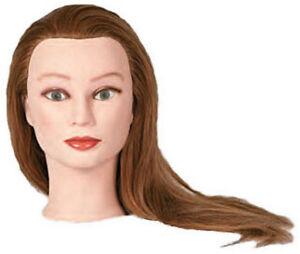 Ms Alexis Strawberry Blond Manikin Head