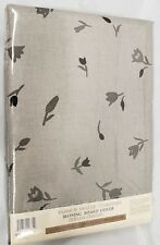 """Padded Ironing Board Cover & Pad, Small Flowers On Grey (for 54"""" boards) by Bh"""