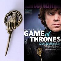 7.5cm Wholesale Game of Thrones Hand of the King Lapel Replica Emblem Pin Brooch
