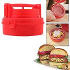 Stuffed Burger Press Hamburger Grill BBQ Patty Maker Juicy As Seen On TV MA