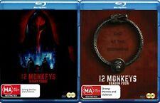 12 MONKEYS  - SEASON 3 & SEASON 4  -  Blu Ray - Sealed Region B
