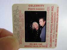 More details for original press photo slide negative - blondie - debbie harry & d.christopher - a