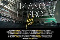 2 Biglietti concerto Tiziano Ferro TZN San Siro, Milano 15 giugno 2021 - Natale!