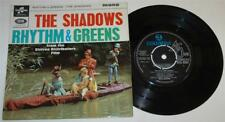 THE SHADOWS - RHYTHM & GREENS EP, 1964 COLUMBIA SEG 8362,PICTURE COVER, EX+