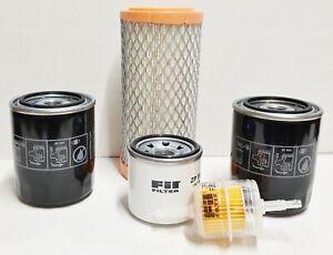 Service maintenance filter kit Fits Kubota RTV900W RTV900R RTV900T RTV900XT