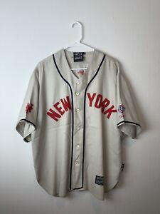 NEGRO LEAGUE BASEBALL JERSEY NEW YORK CUBANS FORGOTTEN LEAGUES SIZE MENS X-LARGE