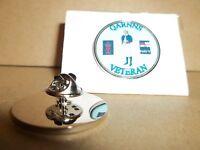 HM Armed Forces QARNNS Royal Navy Veteran Lapel pin badge.