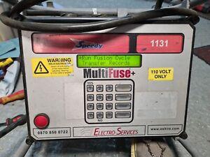 FUSION WELDER Electro Services 40V 80V ELECTROFUSION GAS PLASTIC PIPE WELDER