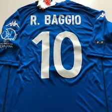Italy 2002 world cup retro shirt size M  R.BAGGIO 10