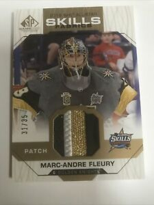 2018-19 Upper Deck SP Game Used All-Star Skills Fabrics Marc-Andre Fleury #AS-MA