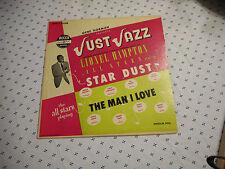 Gene Norman Presents Just Jazz Lionel Hampton & The All Stars 10 Inch Live LP