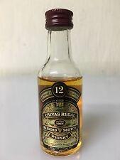 Mignon Miniature Chivas Regal 12yo Scotch Whisky 5cl 43% Vintage A.