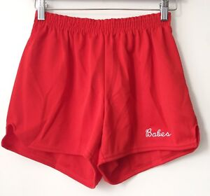legit babes X russell athletic vintage cheerleader shorts womens size large NOS