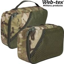 WEB-TEX UTILITY STASH BAG ZIPPED STORAGE POUCH PAINTBALLING ARMY CADET