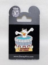 """Walt Disney Pin Trading 2002 I Conquered The World Series """"SCROOGE IN HOT TUB"""""""