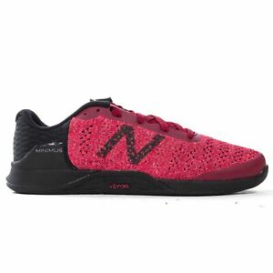 New Balance Minimus Prevail Womens Fitness Trainer Shoe Red/Black - UK 7
