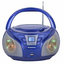Audiosonic Cd-1561 Radio Stereo Azzurro