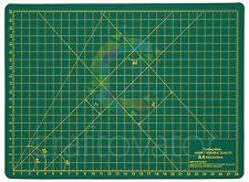 A4 almohadilla de corte su propia curación Antideslizante Craft Quilting Impreso cuadrículas Board
