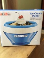 Zoku Ice Cream Maker blue New in box
