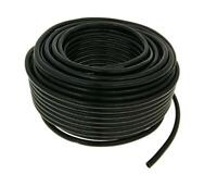 2 meters 6mm,1/4 CR BLACK FUEL HOSE PETROL, DIESEL, OIL LINE FUEL PIPE