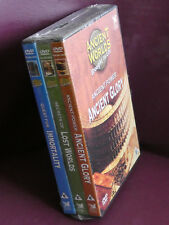 Set of 3 Ancient World DVD's, Ancient Glory, Lost Worlds, Immortality, NS (D0207