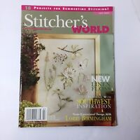 Stitcher's World Magazine July 2005 Patriotic Quilt Bag Liberty Parade Flowers