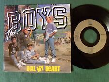"""THE BOYS : Dial my heart 7"""" 45T 1988 French press MOTOWN ZB 42245 hip hop kids"""