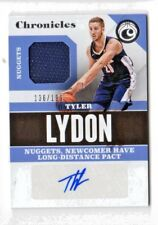 TYLER LYDON NBA 2017-18 PANINI CHRONICLES SIGNATURE SWATCHES  #/199 (NUGGETS)