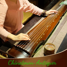 """48"""" Guqin Chinese seven-stringed zither ancient instrument strings Fu-hsi # 3746"""