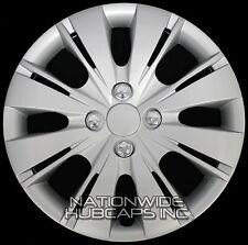 "1 New 2006-17 Toyota Yaris 15"" Hub Caps Wheel Rim Covers Snap On 4 Bolt Lug Hubs"