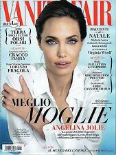 ANGELINA JOLIE RARE VANITY FAIR MAGAZINE ITALY DECEMBER 2014 COLLECTORS LOOK