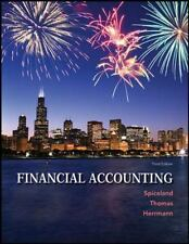 Financial Accounting by J. David Spiceland, Wayne M. Thomas and Don Herrmann...