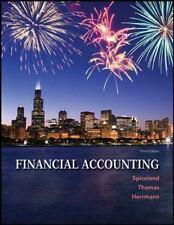 Financial Accounting by J. David Spiceland, Wayne Thomas and Don Herrmann (2013…