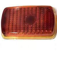 Vintage Red Glass Tail Lamp Lens Griffin Model 79 Plymouth 1940