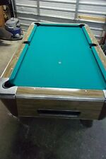 Valley 7 ft. coin op pool table  #PT153