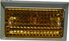 Marker, Bumper Light Amber Lens Flat Rectangle Type