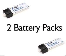 E-Flite 2 pc Blade Scout CX 1S 70mAh 3.7V 14C LiPo Battery # EFLB0701S