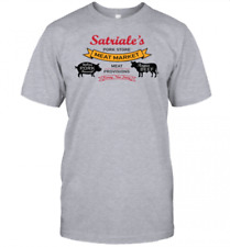 The Sopranos Satriale's Pork Store Gangster Tv Funny T-Shirt Gift S-3Xl